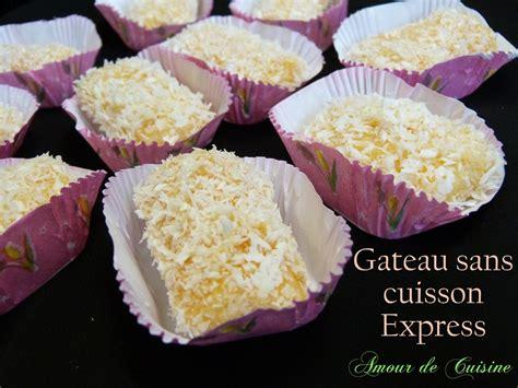 cuisine lella gateaux sans cuisson gateau sans cuisson express amour de cuisine