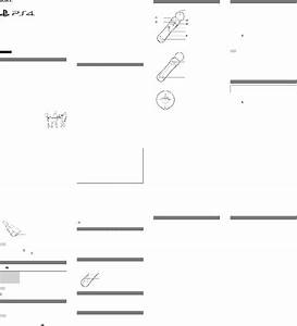 Sony Ps4 Video Game Controller Instruction Manual Pdf View