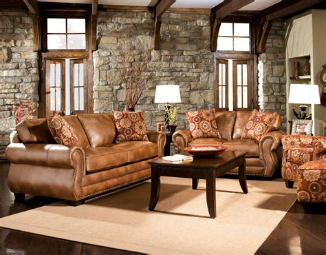 Living Room Ideas With Brown Leather Sofa by Brown Leather Sofa With Impressive Interior Layout Traba