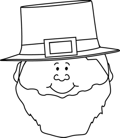 leprechaun clipart black and white black and white leprechaun clip black and white