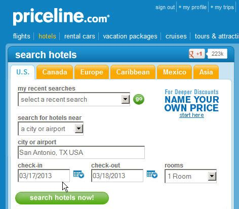 bid on travel priceline bidding hotels best wholesale