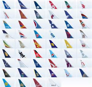 Airplane Airline Tail Logos