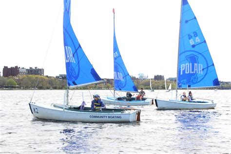 Boating In Boston Membership by Community Boating Open House 05 22 16