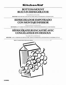 Bottom-mount Built-in Refrigerator Manuals