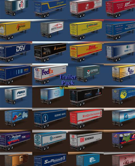 Pack Logistic Company 3.0 for ATS Mod download