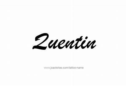 Quentin Tattoo Quinton Tattoos Font Newdesignfile Via