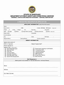 Correctional Services Application Form 2 Free Templates
