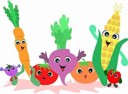 Vegetable Vegetables Fruit Clipart Clip Garden Border