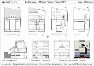 Villa le corbusier max min for Wonderful photo de plan de maison 0 maison planeix drawings plan
