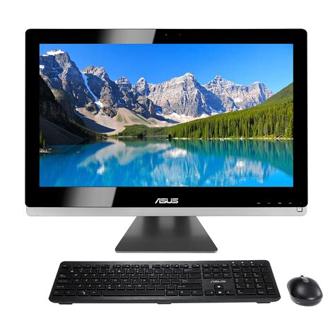 pc asus bureau asus all in one pc et2702igth bh002k pc de bureau asus