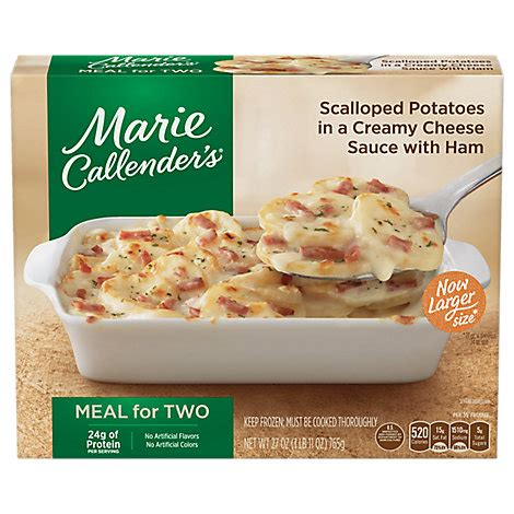 Extra easy baked ziti made entirely from scratch! Marie Callenders Creamy Cheese Scallop Potatoes With Ham Bake - 27 Oz - Pavilions