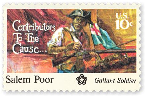 Salem Poor Stamp