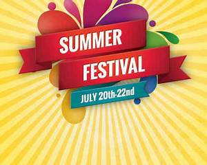 Summer Festival Vector Graphic | Free Vector Background ...