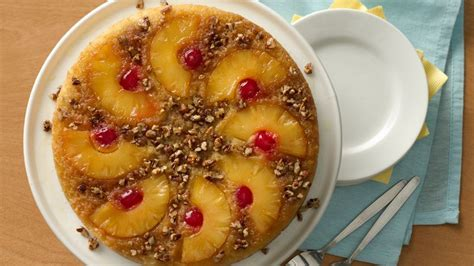 quick pineapple upside  cake recipe tablespooncom