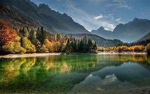 Fog, Lake, Forest, Autumn, Nature, Beauty, Mist, Landscape