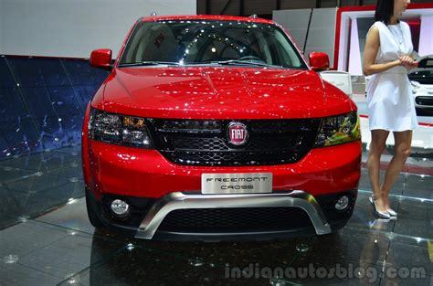 Fiat Freemont Cross Front Geneva Live Indian Autos Blog