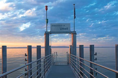 Pier Uttwil by Seegang Uttwil Gemeinde