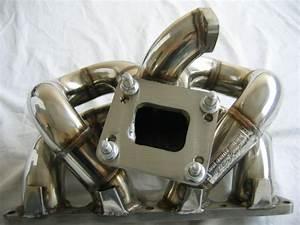 Obx Turbo Manifold Header D Series Honda Civic Crx D15 D16