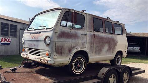 Flat Window Van 1964 Chevrolet G20