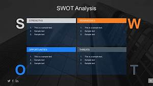 Business Swot Assessment Powerpoint Table
