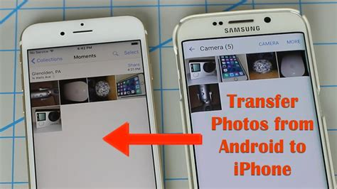 how to send photos from iphone to android how to transfer photos from android to iphone