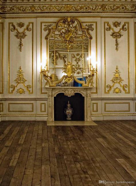 luxury palace gold mosaic wall photography backdrops