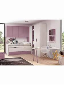 Lit Mi Hauteur Avec Rangement : lits superpos s cottage canyon pour chambre enfant ~ Premium-room.com Idées de Décoration