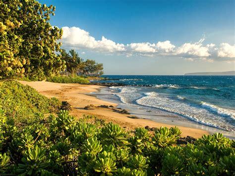 Polo Beach Maui Hawaii Paradise Isl Sea S Desktop ...
