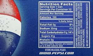 Nutritional Content of Pepsi: A Look at Health & Nutrition