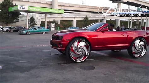 Kandy Red Camaro Ss On 32