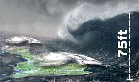 shock weather warning worst atlantic storm   winter