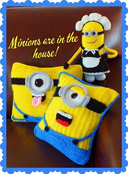 Minion Doll Patterns Crochet Pillow Pattern Minions