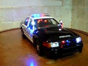 Toy Police Cars with Lights and Sirens