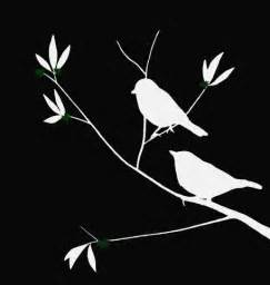 Bird On Tree Silhouette