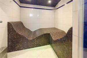 Dampfbad Zu Hause : dampfkabine mit dampfbadliegen dampfbad und dampfbadbau ~ Orissabook.com Haus und Dekorationen