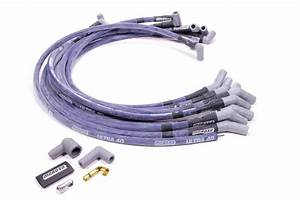 Moroso Ultra 40 Spark Plug Wire Set Spiral Core 8 65 Mm