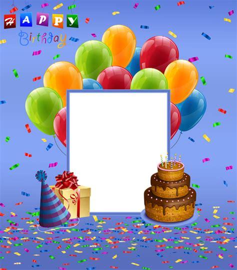 happy birthday blue transparent png frame happy birthday