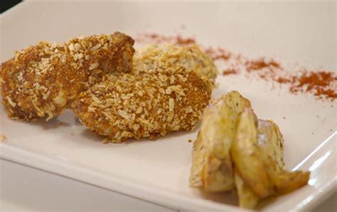 gregg wallace baked chicken  potato wedges recipe
