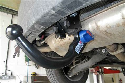 witter towbar fitting step  step practical advice