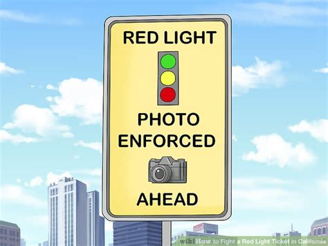 light ticket california how to fight a light ticket in california with pictures