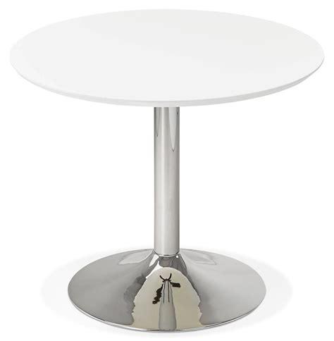 table ronde de bureau table de bureau ronde kitchen blanche 90 cm table à diner
