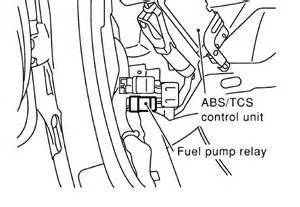 2004 Nissan Maxima Fuel Pump Wiring Diagram