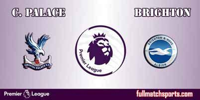Crystal Palace vs Brighton Hove Albion Full Match EPL 2018
