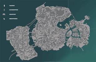 Sunset Overdrive Collectibles Map