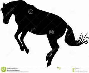 Rearing Horse Logo Stock Vector - Image: 61820753