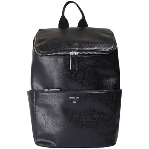matt nat brave backpack black