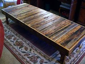 diy wood pallet projects extra large rustic reclaimed With extra large rustic coffee table