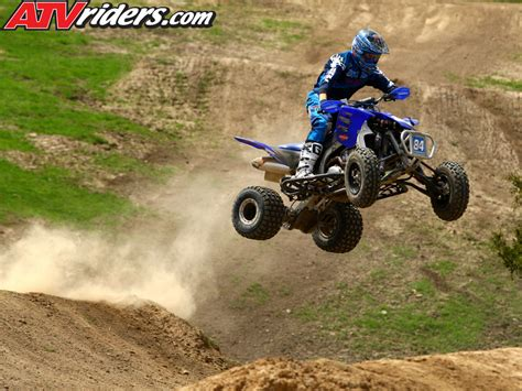 atv motocross kawasaki 39 s chad wienen atv motocross track with yamaha 39 s