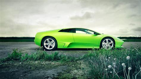 Cool Green Car Hd Desktop Wallpaper