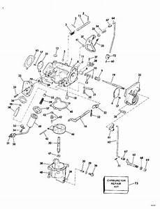 Evinrude Carburetor Parts For 1975 40hp 40505c Outboard Motor